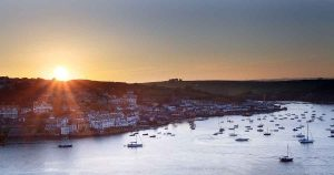 Estate agents aerial pictures to sell homes in Devon